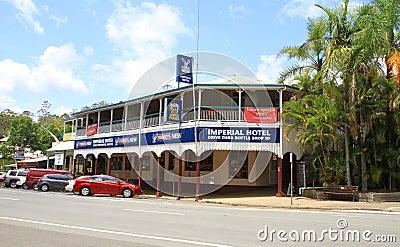 Australia, Qld/Eumundi: Old Hotel and Pub Editorial Image