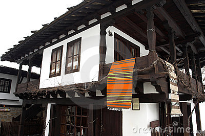 Old authentic house