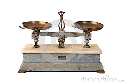 Old Balance With A True Vintage Look Royalty Free Stock Photos - Image: 29309978