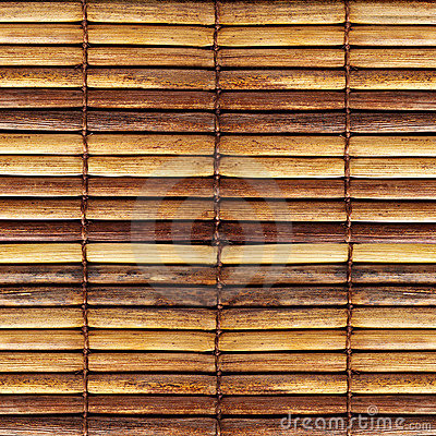 Free Old Bamboo Blinds Stock Photography - 10845662