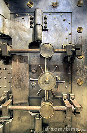 Free Old Bank Vault Royalty Free Stock Images - 13193559