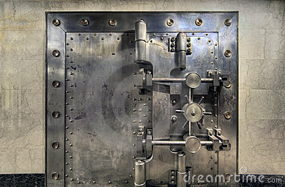 Old Bank Vault Wide