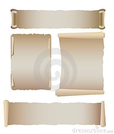 Old banner template set