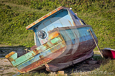 Old Barbados Boat