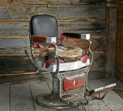 Old Barber Chair.