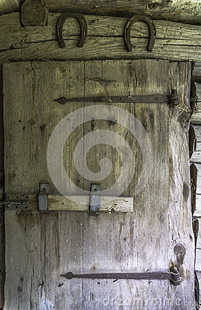 Free Old Barn Door Royalty Free Stock Images - 31812149