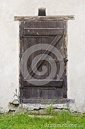 Free Old Barn Door Stock Photo - 57272770