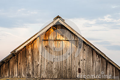 The old barn roof