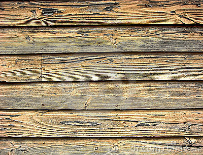 Distressed old barn wood weathered clapboard background on a historic ...
