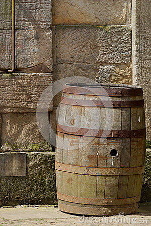 An Old Barrel / Keg