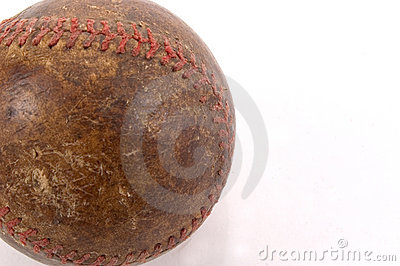 Old Baseball Detail