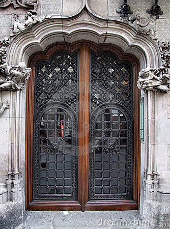Free Old Beautiful Door Stock Images - 1582344