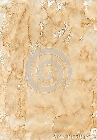 Old beige creasy paper
