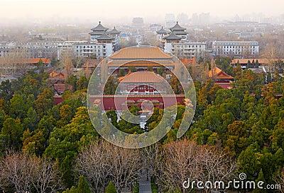 Old Beijing city, China