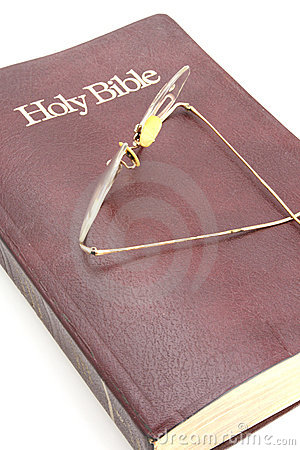 Old Bible and Glasses