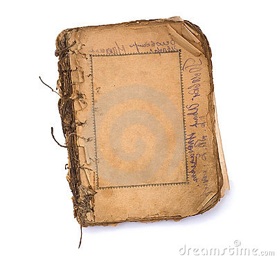 Free Old Blank Book With Frames. Stock Images - 7091414