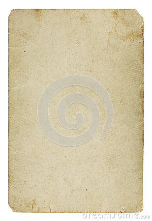 Free Old Blank Paper Card Stock Photography - 29519732