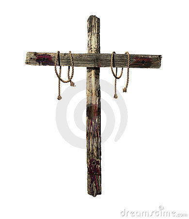 old bloody cross royalty free stock photo image 18144485