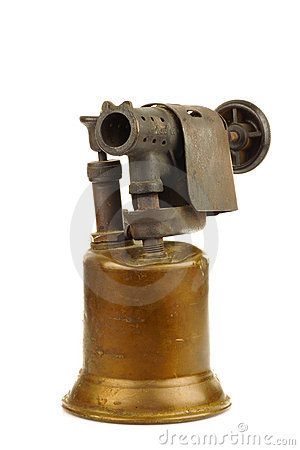 Free Old Blowtorch Stock Images - 18414494