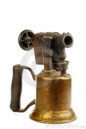 Free Old Blowtorch Stock Image - 18415641