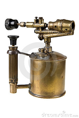 Free Old Blowtorch Royalty Free Stock Image - 2471256