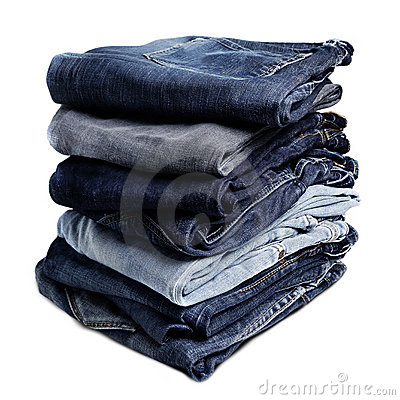 Free Old Blue Jeans Royalty Free Stock Images - 16083159