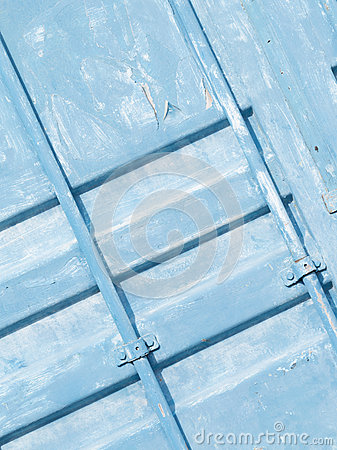 Old blue surface of the container stock photo image for Surface container