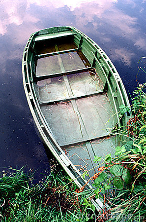 Free Old Boat Stock Image - 616631