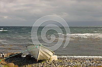 Old boat, Iceland.