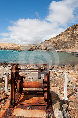 Free Old Boat Winch Royalty Free Stock Photo - 31100065