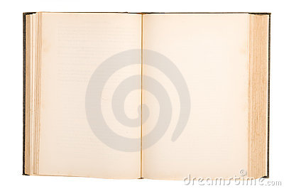Old book blank