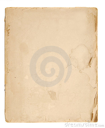 Free Old Book Blank Pages Royalty Free Stock Photos - 2862258
