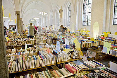 Old book sale Editorial Stock Photo