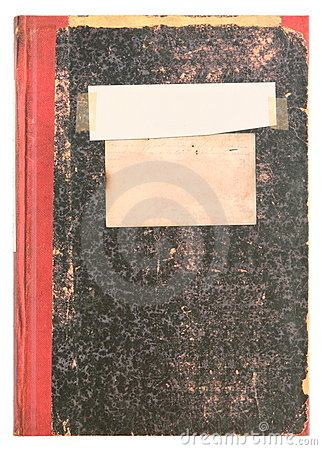 Old book or vintage diary