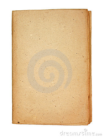 Free Old Book With Old Textured Paper Board Cover Stock Images - 20594504