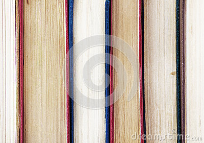 Old books, close up