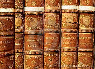 Old books - Shakespeare