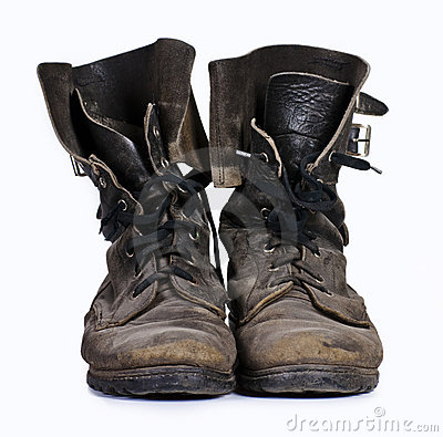 Free Old Boots Stock Image - 13300991