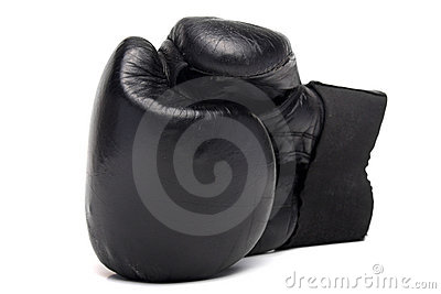 Old boxing glove