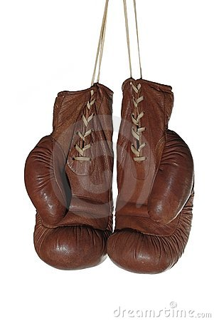 Free Old Boxing Gloves Stock Images - 15378884