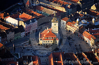 Old Brasov in Romania