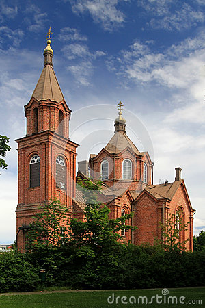 Free Old Brick Church Stock Images - 30244274