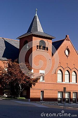Free Old Brick Church. Royalty Free Stock Photography - 39127