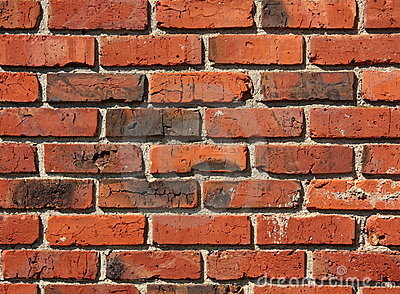 Old Brick and Mortar Wall Pattern