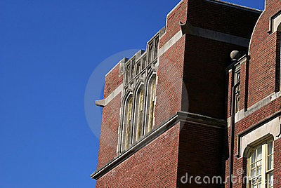 Old brick school