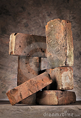 Old Brick still life