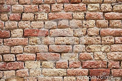 Old brick-wall