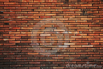 The old brick wall.