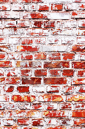 Old brick-wall