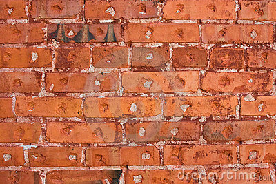 Old Brick Wall Background Pattern